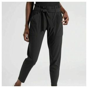 Athleta Skyline Paperbag Ankle Pants